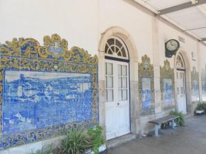 Bahnhof von Obidos