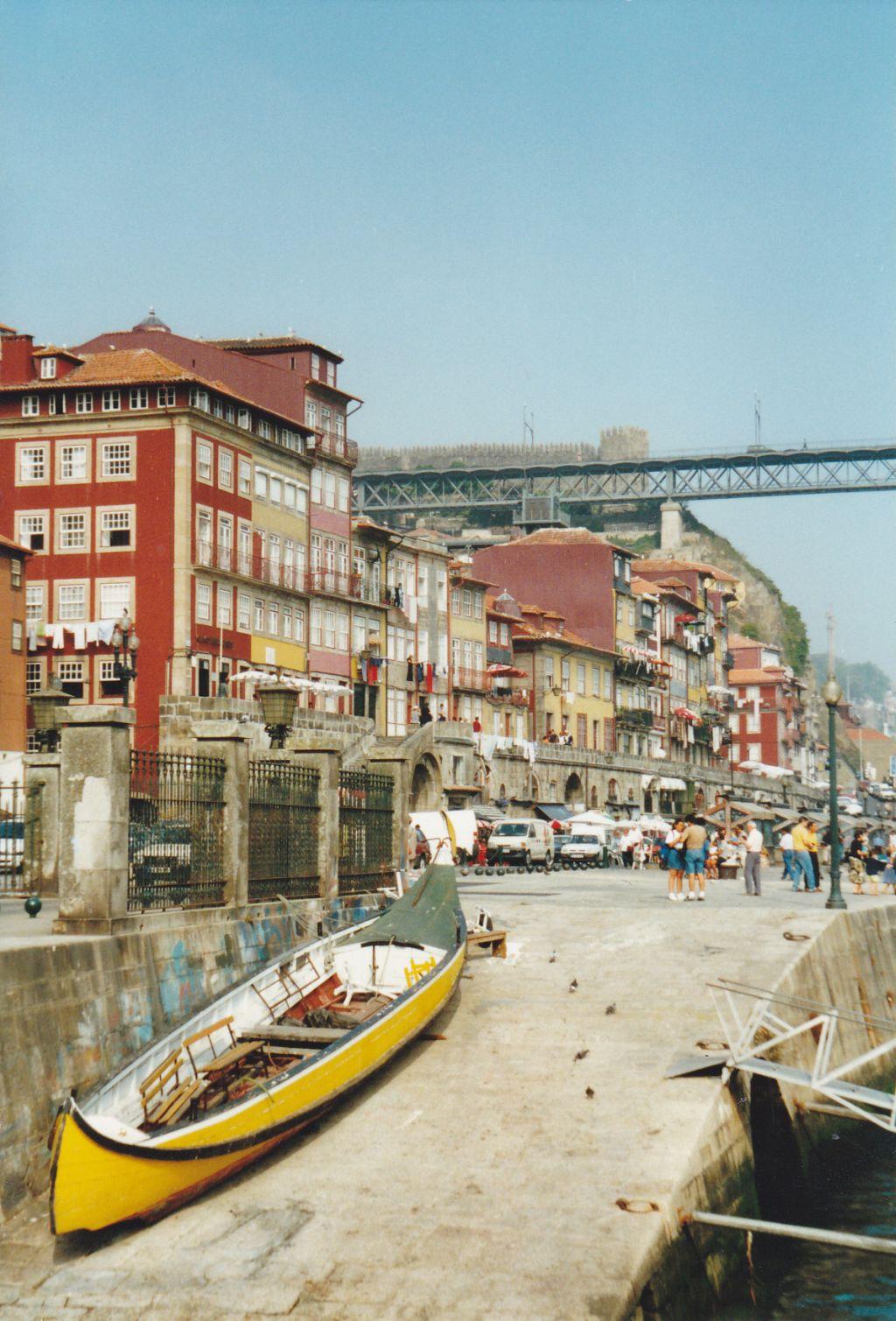 Porto, Hafenviertel Ribeira