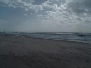 im März am Praia da Mira