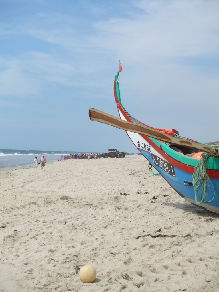 Praia da Mira-Fischfang ist harte Arbeit