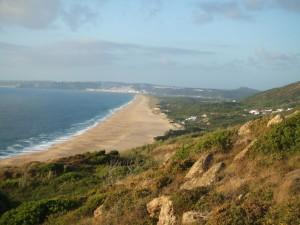 Strand Salgados bei Sao Martinho
