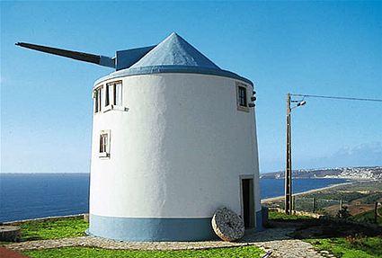 Mühle am Meer