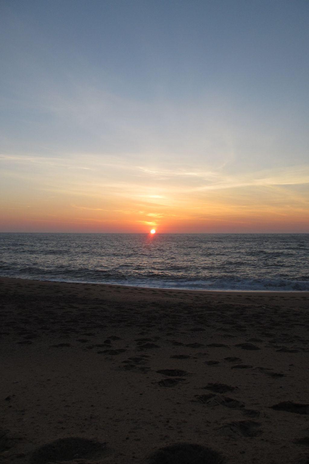 Sonnenuntergang am Gralha