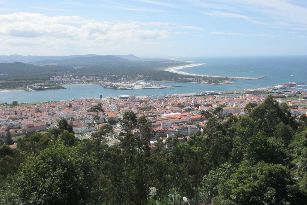 Blick vom Monte Santa Luzia
