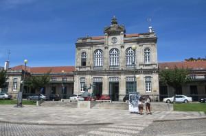 Bahnhof von Viana