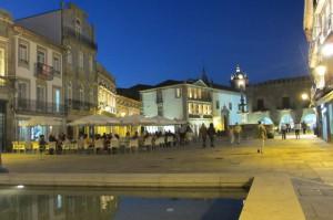 Zentraler Platz von Viana